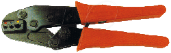 Crimpzange für Kabelschuhe 0,5-6mm²
