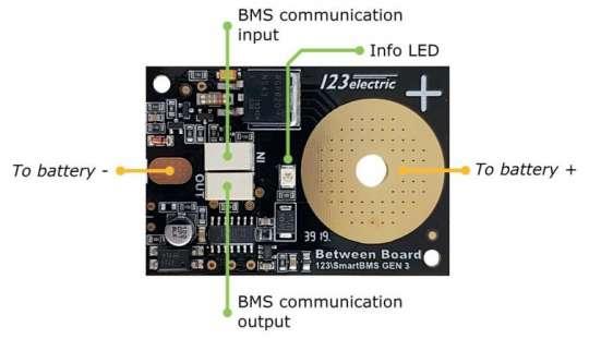 123SmartBMS gen3-Extra-board