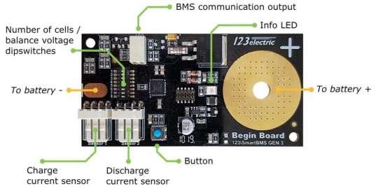 123SmartBMS gen3 - begin Board