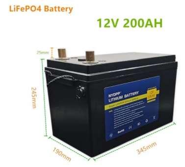 LiFePo4 12V 200Ah mit Schutzelektronik und Bluetooth, Batteriekoffer, Ladegerät inkl.
