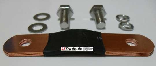 Polverbinder inkl. Schrauben Winston 160Ah TYP A(WIDE) 65mm