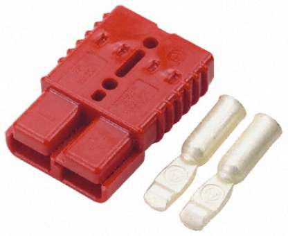 Anderson Hochstrom-Stecker/Buchse SB175 rot 175A Hochstromstecker, Batterie-Steckverbinder HSG/SPG