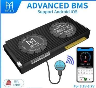 Heyo BMS, 4S (12V), 250A mit Bluetooth